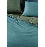 At Home by BeddingHouse All Lines Dekbedovertrek - Blauw