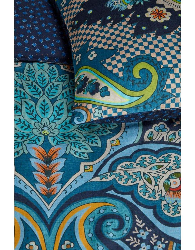 Oilily Oilily Punjab Paisley Dekbedovertrek - Blauw