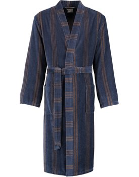 Cawö 2508 Herren Kimono badjas extra licht - blau-13