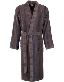 Cawö 2508 Herren Kimono badjas extra licht - tabak-31