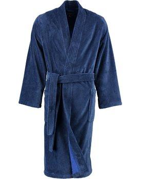 Cawö 800 Herren kimono badjas - nachtblau-11