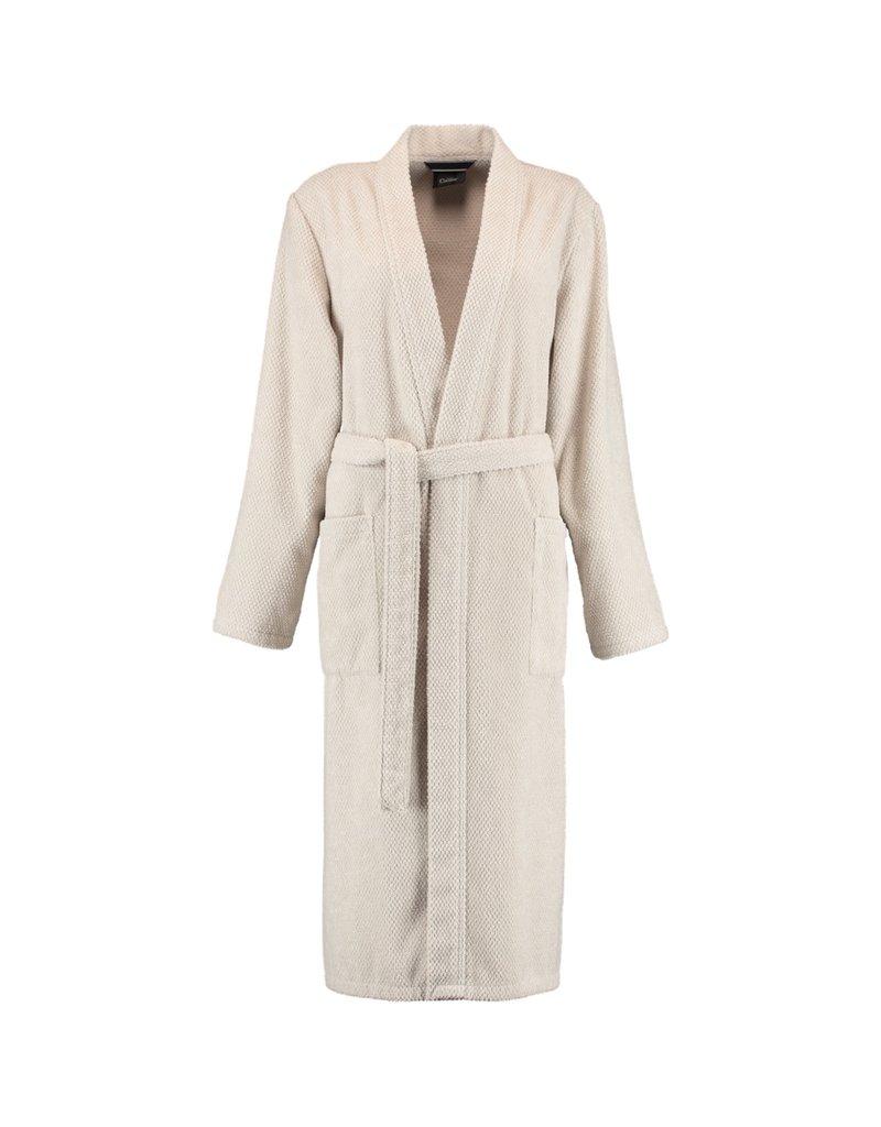 Cawö Cawö 1235 Dames kimono badjas - travertin-366
