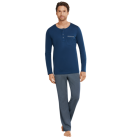 Schiesser Schiesser heren pyjama lang 169697 air