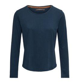 Essenza Essenza Waona Uni Top Long Sleeve – Indigo blue