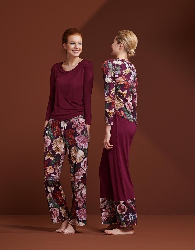 Essenza Essenza Naomi Anneclaire Trousers Long – Cherry
