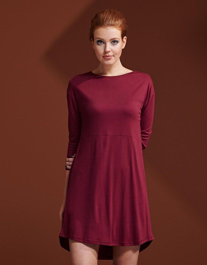 Essenza Essenza Lykke Uni Nightdress 3/4 sleeve – Cherry