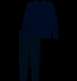 Schiesser Schiesser heren Pyjama 171090 donkerblauw