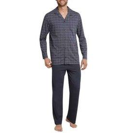 Schiesser Schiesser Pyjama 159635 heren antraciet