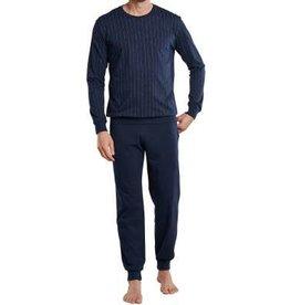 Schiesser Schiesser Pyjama 171961 heren donkerblauw - 803