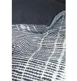 Vtwonen Vtwonen dekbedovertrek Check XL zwart
