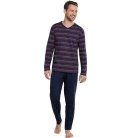 Schiesser Schiesser heren pyjama 171381 dark blue