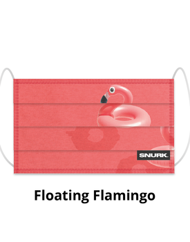 Snurk Mondkapje Flamingo