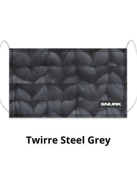 Snurk Mondkapje Twirre Steel Grey