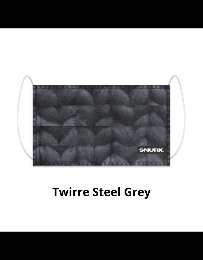 Snurk Snurk Mondkapje Twirre Steel Grey