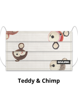 Snurk Mondkapje Teddy&Chimp