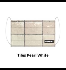 Snurk Snurk Mondkapje Tiles Pearl White