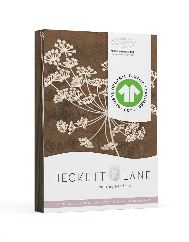 Heckett & Lane Heckett&Lane GOTS Charlotte Dekbedovertrek Chocolate