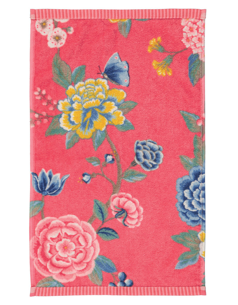 Pip Studio Pip Studio gastendoek Good Evening 30x50 coral