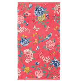 Pip Studio Pip Studio handdoek Good Evening 55x100 coral