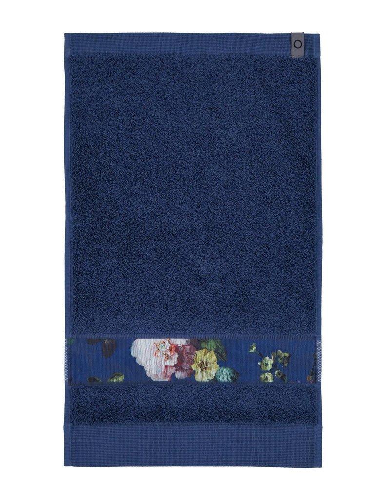 Essenza Essenza Fleur gastendoek Blue 30x50
