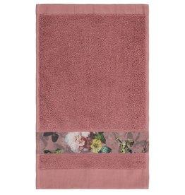 Essenza Essenza Fleur gastendoek Dusty Rose 30x50
