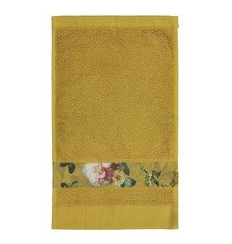 Essenza Essenza Fleur gastendoek Yellow 30x50