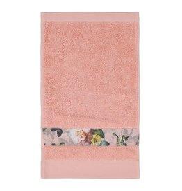 Essenza Essenza Fleur gastendoek Rose 30x50