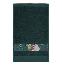 Essenza Essenza Fleur gastendoek Dark Green 30x50