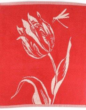 Bunzlau Castle keukendoek Tulips red