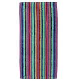 Cawö Cawo Lifestyle Streifen Handdoek 7048 Multi-84 50x100
