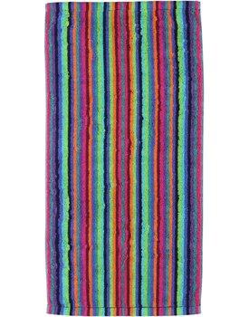 Cawo Lifestyle Streifen Handdoek 7048 Multi-84 50x100