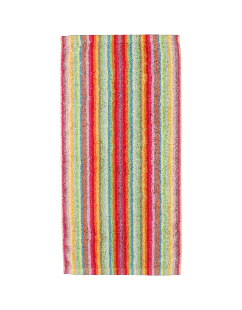 Cawö Cawo Lifestyle Streifen Handdoek 7008 Multi-25 50x100