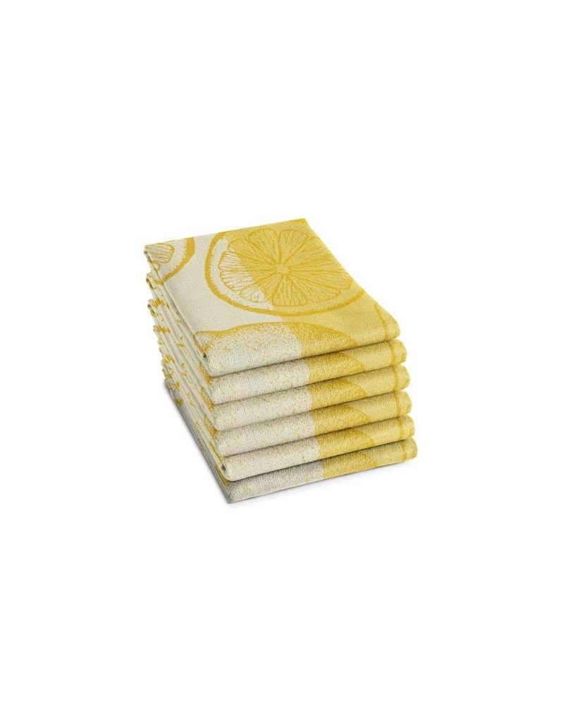 DDDDD DDDDD theedoek citrus  60x65 yellow per stuk
