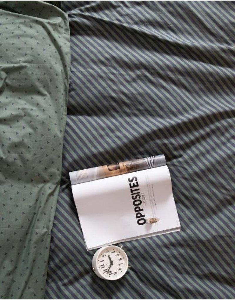 Covers & Co Covers & Co No Stripes No Glory Dekbedovertrek Green 200x200x220