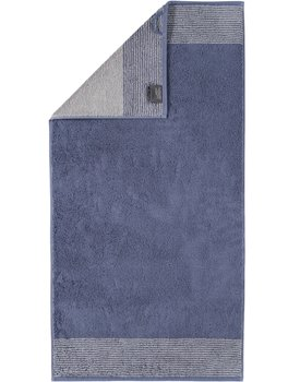 Cawo Two-Tone Handdoek Nachtblau 50x100