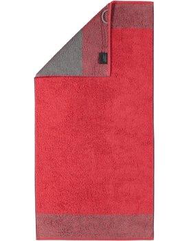 Cawo Two-Tone Handdoek Rood 50x100
