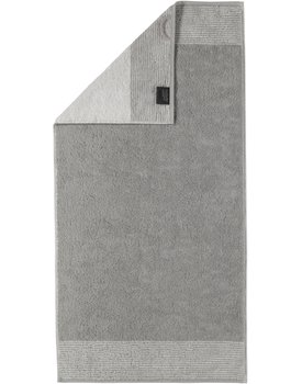 Cawo Two-Tone Handdoek Platina 50x100