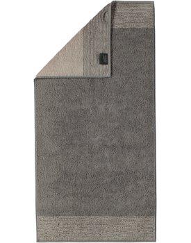 Cawo Two-Tone Handdoek Grafiet 50x100