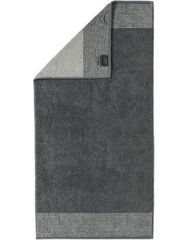 Cawo Two-Tone Handdoek Leisteen 50x100