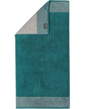 Cawo Two-Tone Handdoek Smaragd 50x100