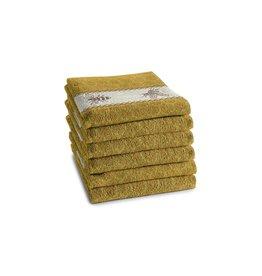 DDDDD DDDDD keukendoek bees 50x55 yellow per stuk
