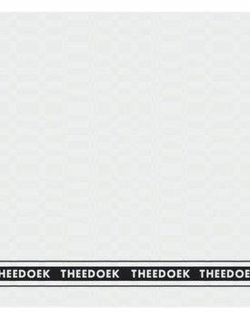 DDDDD theedoek pelle  60x65  white per stuk