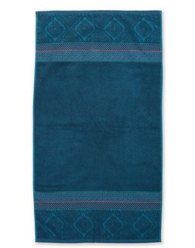Pip Studio handdoek Soft Zellige Dark Blue 55x100