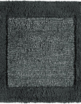 Cawo badmat Two-Tone 60x60 Antracite
