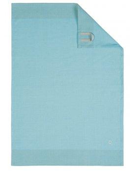Cawö theedoek Two-tone 50x70 turquoise