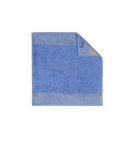 Cawö Cawö keukendoek Two-tone 50x50 blauw