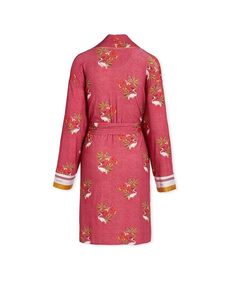 Pip Studio Pip Studio Nisha Kimono My Heron Pink L
