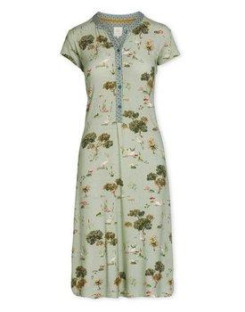 Pip Studio Dalia Night Dress Swan Lake Green XL