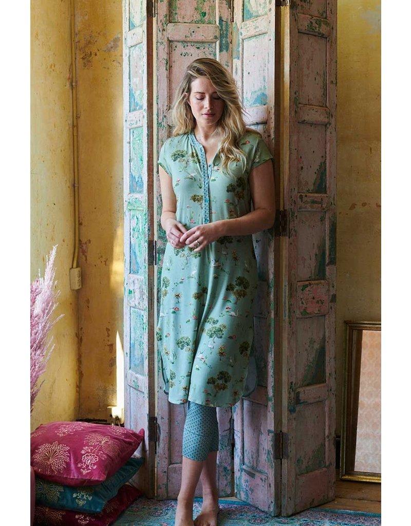 Pip Studio Pip Studio Dalia Night Dress Swan Lake Green L
