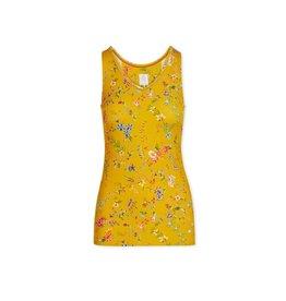 Pip Studio Pip Studio Tessy Sleeveless Top Petites Fleurs Yellow L